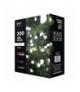 Lampki choinkowe 200 LED kulki 20m IP44 CW, 8 programów EMOS ZY2028