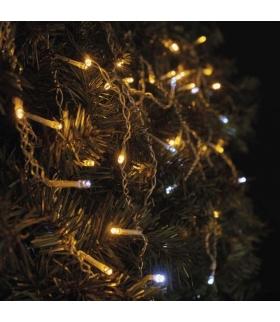 Oświetlenie świąteczne łączone- sople 100 LED WW/CW flashing EMOS ZY2002