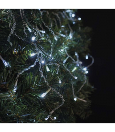 Oświetlenie świąteczne łączone- sople 100 LED CW/CW flashing EMOS ZY2001