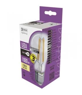 Żarówka LED Filament A60 8,5W E27 ciepła biel ściemnialna EMOS Z74270D