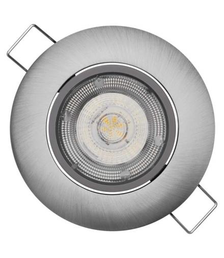 Oczko LED Exclusive 8W neutralna biel, nikiel EMOS ZD3242