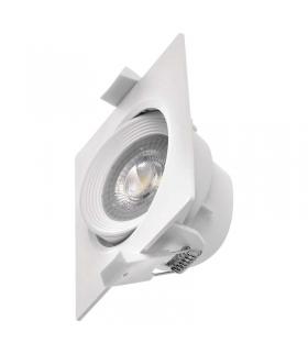 Oczko LED kwadratowe 5W ciepła biel, biały EMOS ZD3560