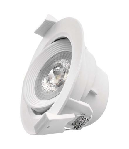 Oczko LED 7W 3x ściemnialne, neutralna biel, biały EMOS ZD3531S