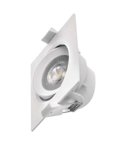Oczko LED kwadratowe 7W ciepła biel, biały EMOS ZD3570