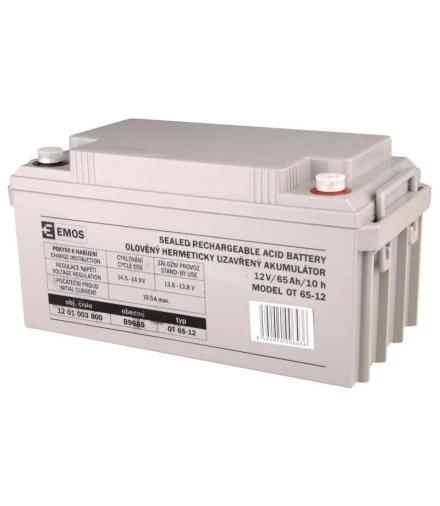 Akumulator AGM 12V 65Ah M8 EMOS B9685