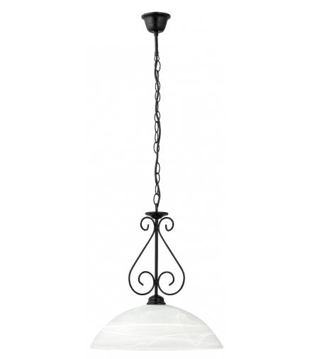 Lampa wisząca Athen E14 1x60W czarna Rabalux 7816