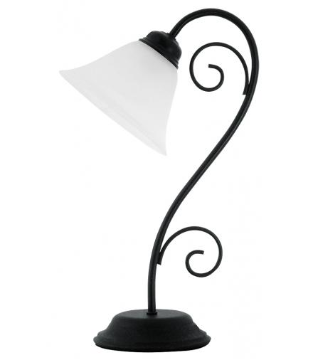 Lampka stołowa Athen E14 1x40W czarna matowa Rabalux 7812