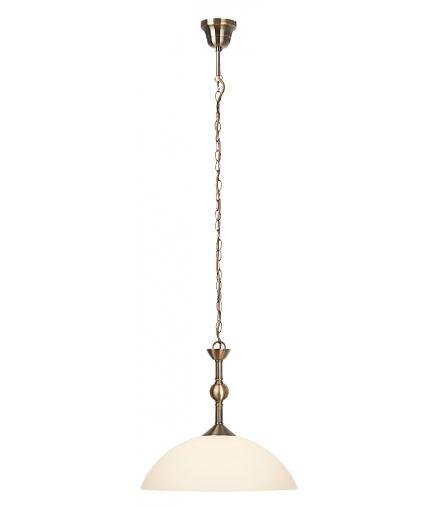 Lampa wisząca Aurelia E-27 1x max 60W brąz biała Rabalux 7138