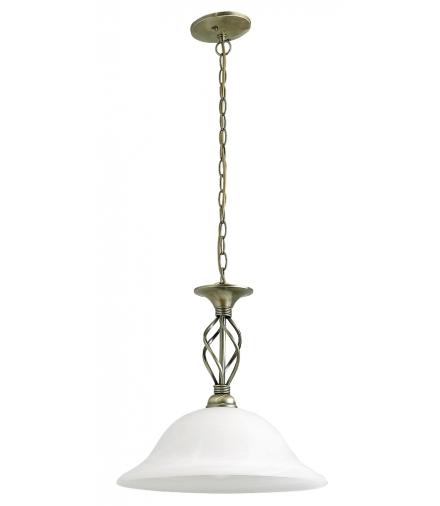 Lampa wisząca Beckworth E27 1x60W brąz Rabalux 7136