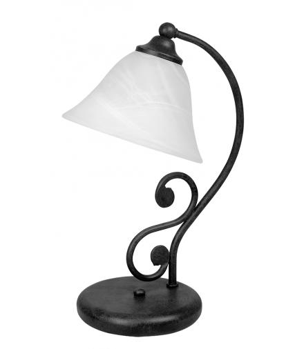 Lampka stołowa Dorothea E14 1x40W czarny mat Rabalux 7772