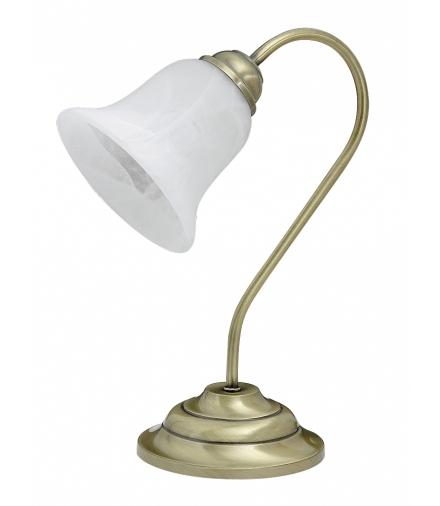 Lampa stołowa Francesca E14 brąz ant. Rabalux 7372