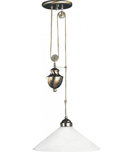 Lampa wisząca Marian E27 100W mosiądz ant. Rabalux 2706