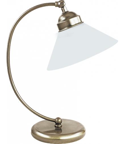 Lampka stołowa Marian E27 60W mosiądz ant. Rabalux 2702
