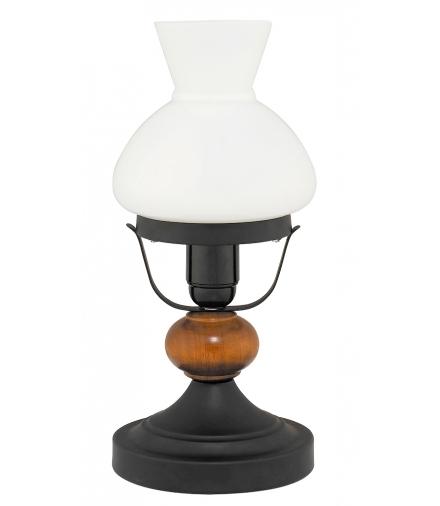 Lampka stołowa Petronel E27 1x60W czarna matowa Rabalux 7072