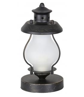Lampka stołowa Victorio E14/C37 40W złoto antyczne Rabalux 7346