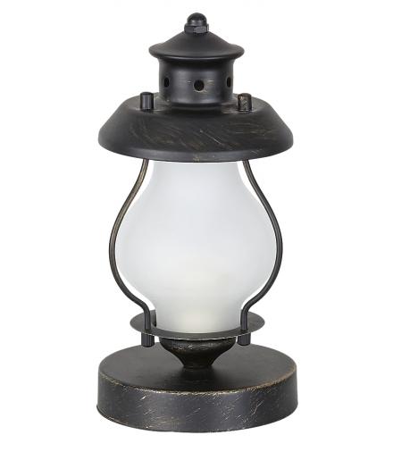 Lampka stołowa Victorio E14 C37 40W złoto antyczne Rabalux 7346