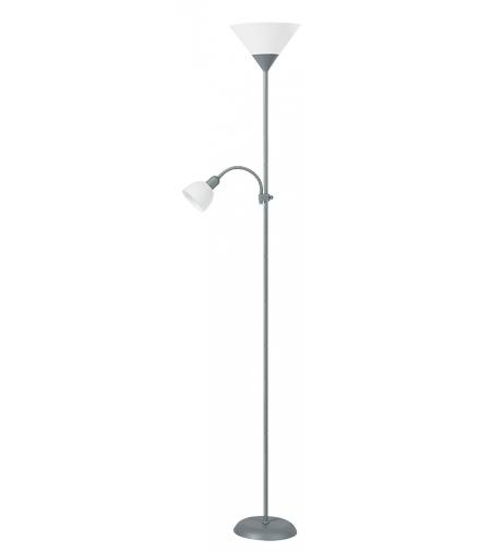 Lampa podłogowa Action popiel Rabalux 4028