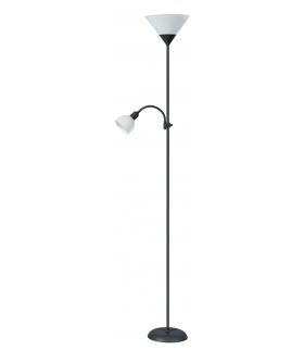 Lampa podłogowa Action czarna biała Rabalux 4062