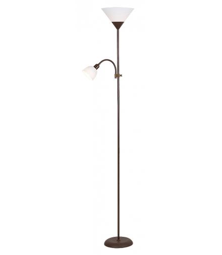 Lampa podłogowa Action brązowy Rabalux 4188