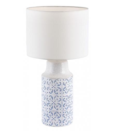 Lampka biurkowa Agnes E27 1x40 W biały niebieski Rabalux 4309
