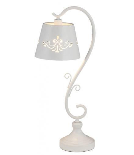 Lampka stołowa Anna E14 1x40W biały matowy Rabalux 2233