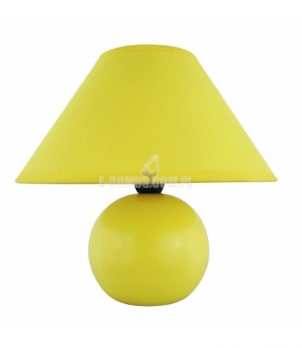 Lampka ceramiczna Ariel E14 40W żółta Rabalux 4905