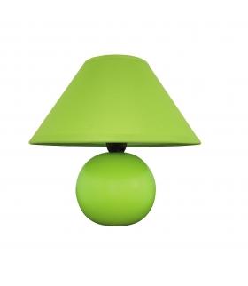 Lampka ceramiczna Ariel E14 40W zielona Rabalux 4907