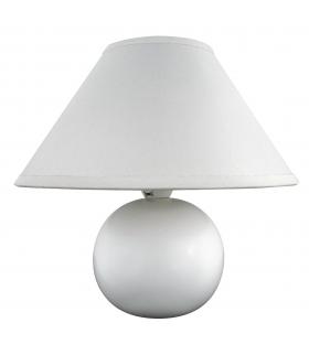 Lampka ceramiczna Ariel E14 40W biała Rabalux 4901
