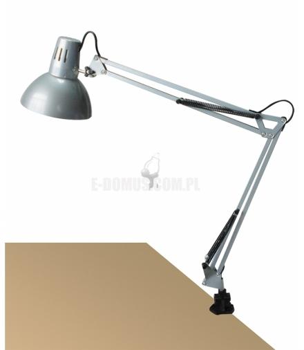 Lampka biurkowa Arno E27 1x60 srebrna Rabalux 4216