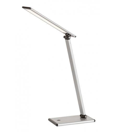 Lampka biurkowa Brook LED 7W srebrny Rabalux 4182