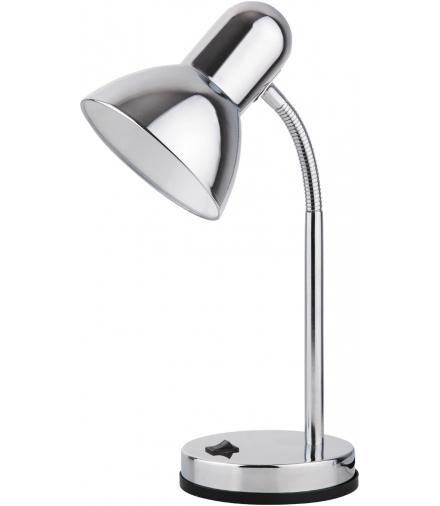 Lampa biurkowa Clark E27 1x40W chrom Rabalux 4255