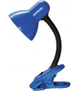 Lampka Dennis na klipsie E27 40W niebieska Rabalux 4260