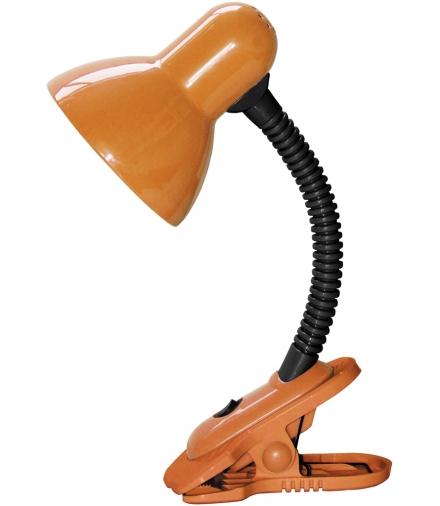 Lampka Dennis na klipsie E27 40W pomarańczowa Rabalux 4258