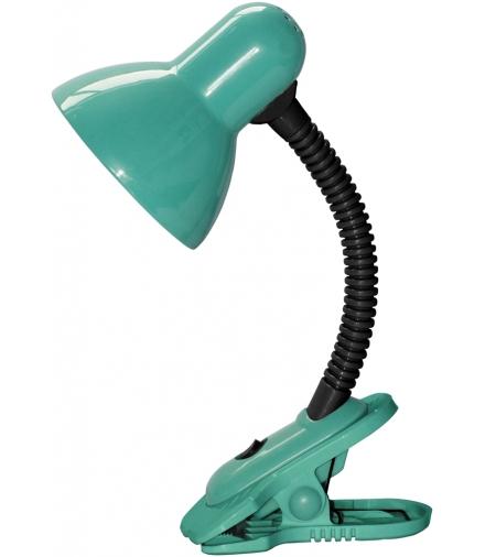 Lampka Dennis na klipsie E27 40W zielona Rabalux 4257