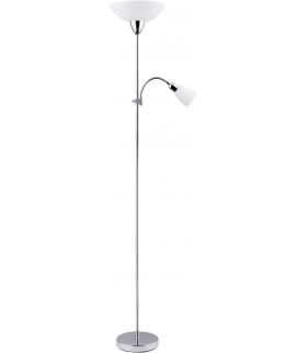 Lampa podłogowa Diana E27 G45 60W+ E14 40W chrom Rabalux 4059