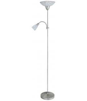Lampa podłogowa Harmony lux E27 100W+E14 40W chrom saty. Rabalux 4091