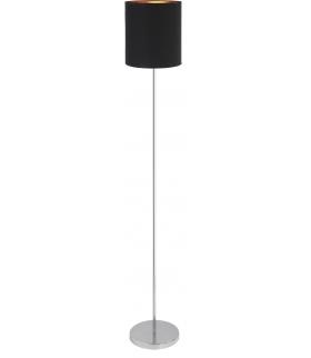 Lampa podłogowa Monica E27 1x60W czarny/złoty/chrom Rabalux 2524