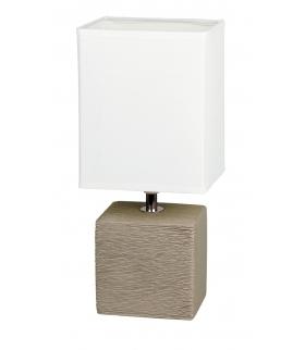 Lampka stołowa Orlando E14 1x40W szary Rabalux 4930
