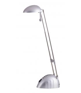 Lampka biurkowa Ronald 28LED/5W IP20 srebrny Rabalux 4335