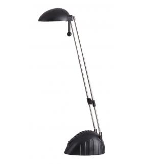 Lampka biurkowa Ronald 28LED/5W IP20 czarny Rabalux 4334