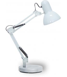 Lampka biurkowa Samson E27 1x60W biała Rabalux 4211