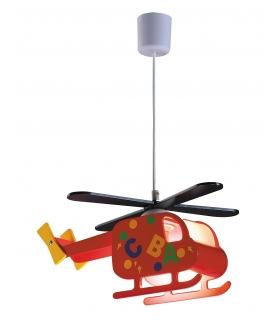 Lampa Helicopter E27 40W czerwony Rabalux 4717