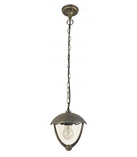 Lampa wisząca Miami E27 40W złoto antyczne Rabalux 8673