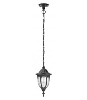 Lampa ogrodowy wisząca Milano E27 1x60W czarny Rabalux 8344