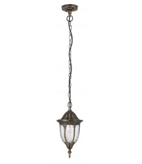 Lampa ogrodowa wisząca Milano E27 1x60W złoto anty. Rabalux 8374
