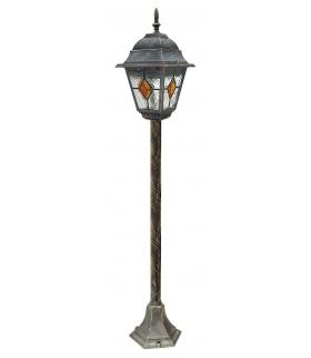 Lampa Monaco stojąca E27 1x60W 1m złoto antyczne Rabalux 8185