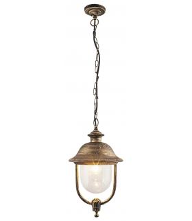 Lampa wiszaca New York E27/100W złoto antyczne Rabalux 8699