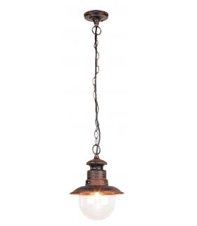 Lampa wisząca Odessa E27 60W brąz antyczny Rabalux 8164