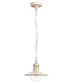 Lampa wisząca Oslo E27 60W biały antyk Rabalux 8740