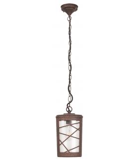 Lampa wisząca Pescara E27/1x60W przypalany brąz Rabalux 8758